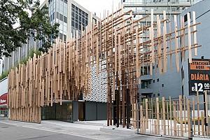 طراحی خانه فرهنگی ژاپن در سائوپائولو