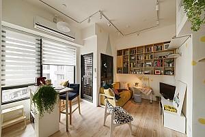 دکوراسیون و طراحی داخلی خانه کوچک 49 متری!
