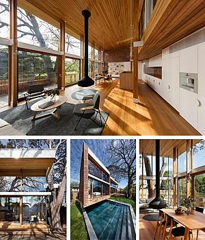 ویلای دوبلکس با معماری و طراحی داخلی لوکس