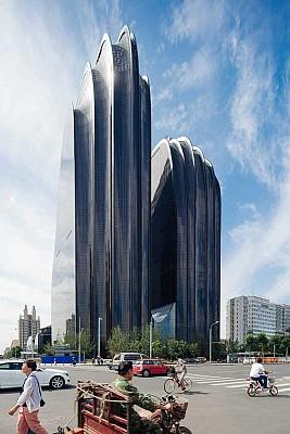 معماری برج بیونیک از گروه معماری MAD
