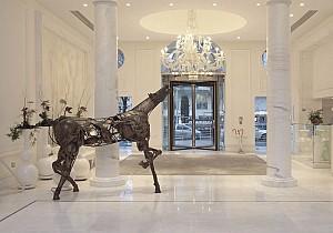 طراحی لابی هتل لوکس با شیوه های متفاوت