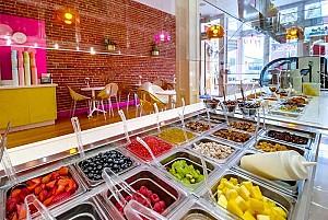طراحی کافه بستنی فروشی و ماست یخ زده