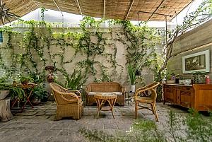 طراحی تراس و حیاط دلنشین خانه