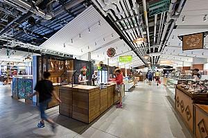30 نمونه طراحی فروشگاه هایپرمارکت