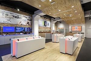 20 ایده طراحی داخلی مغازه موبایل فروشی