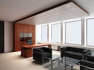 اصول طراحی و دکوراسیون داخلی اتاق مدیریت