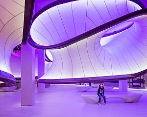 طراحی موزه علوم ریاضی زاها حدید