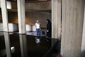 هاراگوچی و حوض نفت در40 سالگی موزه هنرهای معاصر