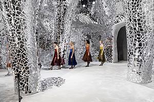 طراحی فشن شوروم برند دیور (Dior)