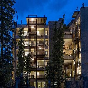 ساختمان مسکونی گوشواه ها رتبه دوم جایزه معمار 95