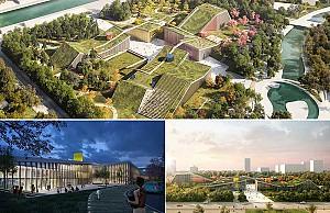 احیای شهر مرده توسط معماری منظر از گروه معماری MVRDV