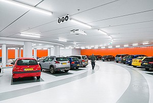 طراحی پارکینگ طبقاتی مدرن