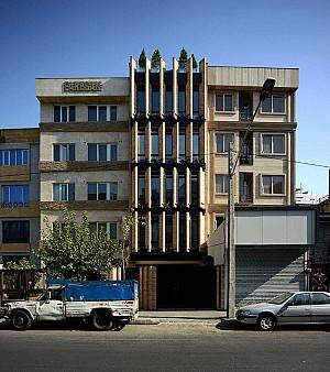 طراحی ساختمان اداری سرمشق تهران