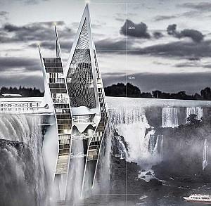طراحی آسمان خراش آبشار راه حلی با رویکرد معماری پایدار