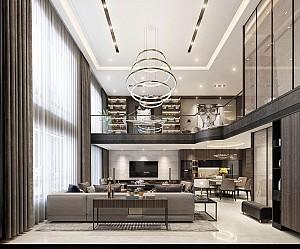 2 نمونه طراحی داخلی خانه های لاکچری و مدرن به سبک آسیایی