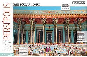 پانورامای معماری پارسه در مجله فرانسوی