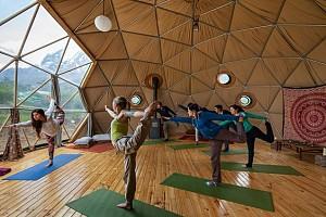 نمونه طراحی داخلی مراکز و سالن های تمرین و آموزش یوگا