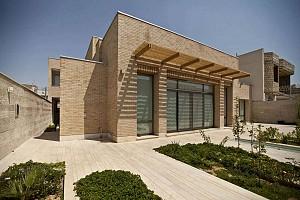 معماری گرم و ایرانی خانه شماره 7 در نجف آباد، اصفهان