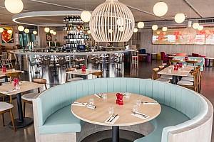 طراحی داخلی رستوران در چشم انداز جدید لندن