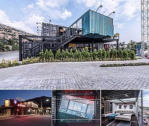 طراحی رستوران کیوب کلاب، رتبه سوم جایزه معمار در بخش عمومی