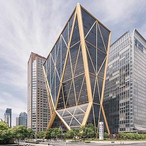 طراحی ساختمان بانک مرکزی سیتیک از نورمن فاستر