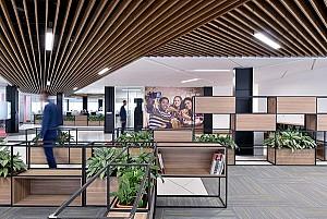 طراحی داخلی شرکت اداری گلنان تهران