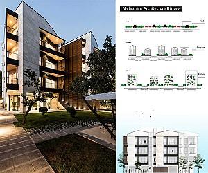 طراحی آپارتمان مسکونی 111 در مهرشهر کرج