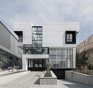 طراحی ساختمان اداری کارخانه توسن تجهیز، فینالیست بخش عمومی جایزه معمار 96