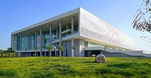 معماری کتابخانه  بخش علوم و فناوری دانشگاه شین جیانگ
