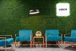 طراحی دفتر کار مدرن  شرکت  Uber در انگلستان