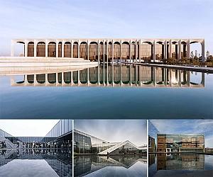 10 ساختمان معماری که امضای طراحی آنها انعکاس در آب می باشد