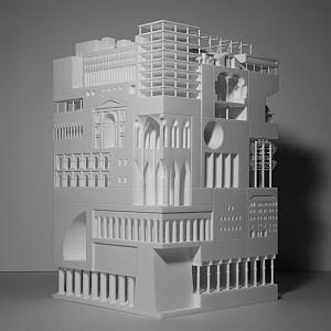 30 پروژه مهم معماری که در یک ماکت سه بعدی تلفیق شده اند