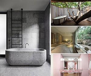 10 حمام لاکچری برای خانه یا فضای کار شما