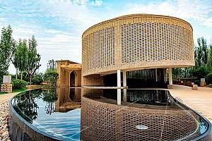 طراحی غرفه آجری چین در نمایشگاه باغبانی Expo 2017