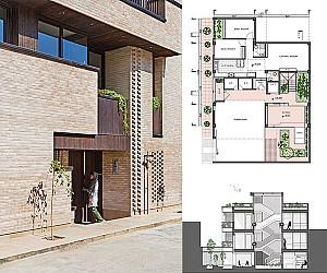 طراحی خانه فروردین اصفهان