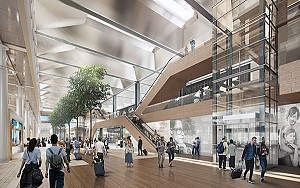 طراحی و بازسازی فرودگاه مارسی توسط نورمن فاستر