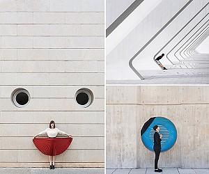 عکاسی معمارانه: تصاویر خلاقانه از تلفیق انسان و ساختمان