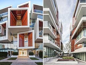 طراحی مجتمع مسکونی با ویژگی های معماری استراتژی گرا