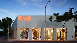 طراحی و دکوراسیون داخلی فروشگاه مبلمان Knoll