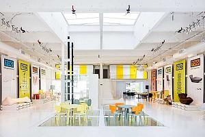 طراحی فروشگاه مبلمان فیلیپ استارک