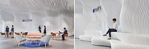 طراحی داخلی محیط اداری شرکت تو لید کننده سمعک Sivantus