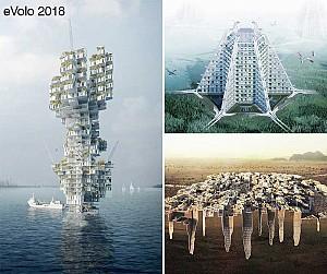 برندگان طراحی آسمانخراش مسابقه ایولو 2018