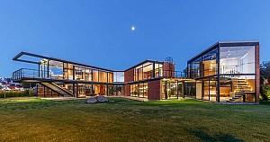 طراحی خانه ی دوبلکس مدرن