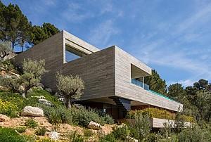 معماری منحصر به فرد ویلا در اسپانیا