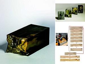 متریال: ساخت چوب با 3DPrint و  بافت پیوسته تر