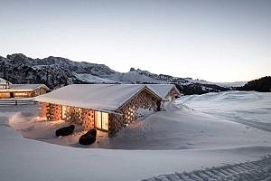 طراحی هتل در ارتفاعات برفی برای تعطیلات زمستانی