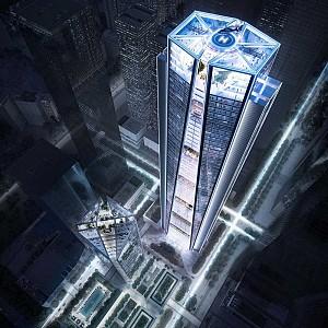 جدیدترین طراحی برج های شنزن در روزهای پرکار نورمن فاستر