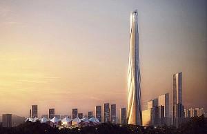 کانسپت بلندترین آسمان خراش هنک کنگ به ارتفاع 700 متر