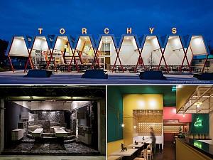 طرح 7 فست فود شاخص: معماری مدرن عاشقانه برای مکزیک