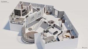 7 پلان سه بعدی هتل های مشهور فیلم های سینمایی